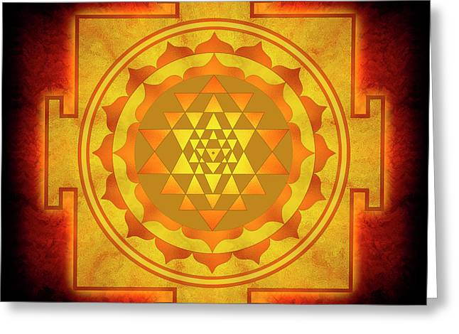 Sri Yantra - No. 1 Greeting Card