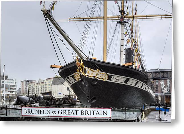 Ss Great Britain - Bristol Greeting Card