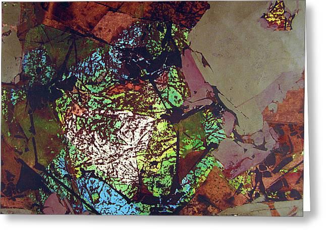 Ss1978ny001 Luz De Otono 3-7 15x14.25 Greeting Card by Alfredo Da Silva