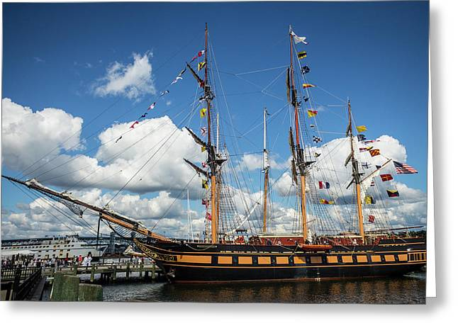 Ssv Oliver Hazard Perry Greeting Card