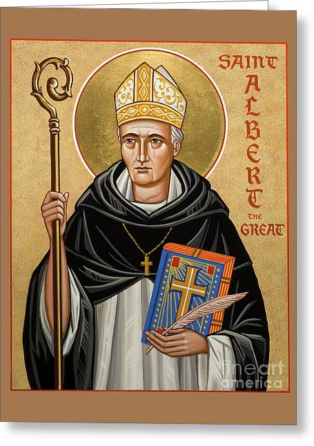 St. Albert The Great - Jcatg Greeting Card