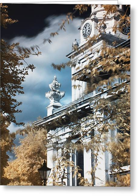 St Alfege Parish Church In Greenwich, London Greeting Card