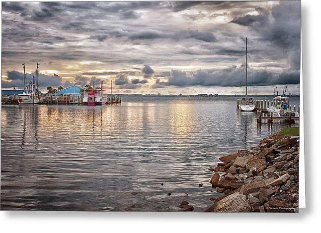 St Andrews Bay Greeting Card