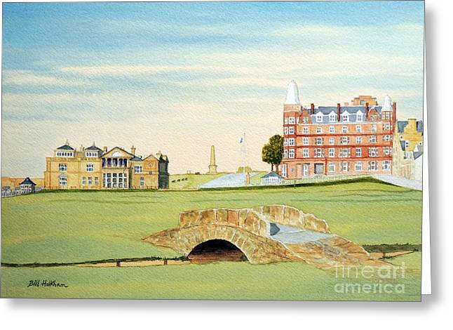 St Andrews Golf Course Scotland - Royal And Ancient Greeting Card