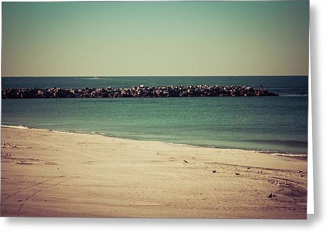 St. Andrews State Park Jetties Greeting Card