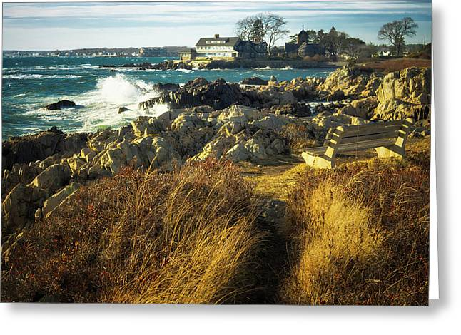 Greeting Card featuring the photograph St. Anne's Church-kennebunk, Maine by Samuel M Purvis III