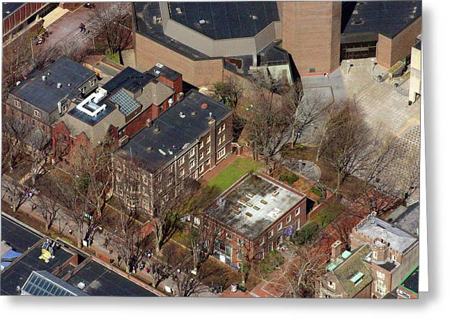 Duncan Pearson Greeting Cards - St Anthony Hall and St Elmo Fraternity Houses University of Pennsylvania Greeting Card by Duncan Pearson