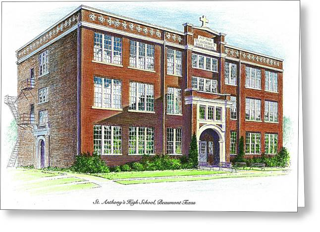 St. Anthony's High School Greeting Card