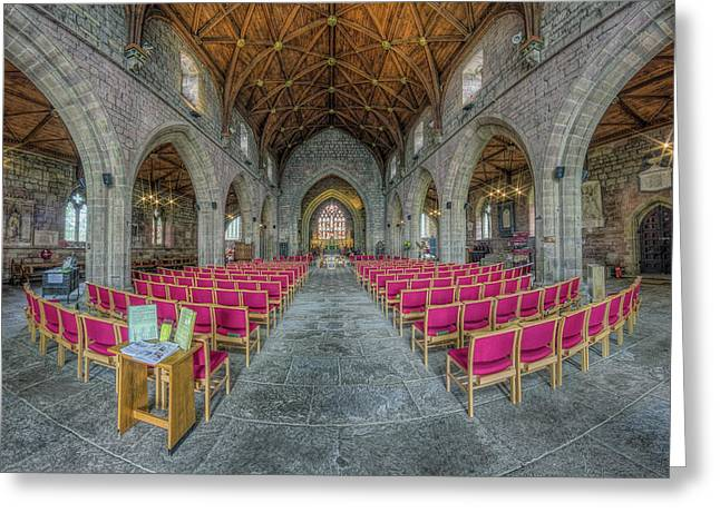 St Asaph Cathedral Greeting Card