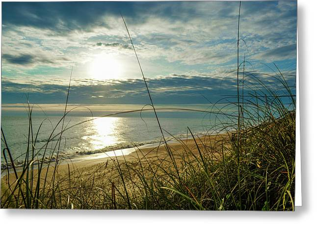 St Aug Sunrise Greeting Card