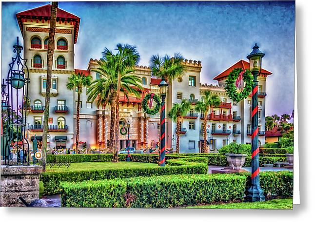 St. Augustine Downtown Christmas Greeting Card