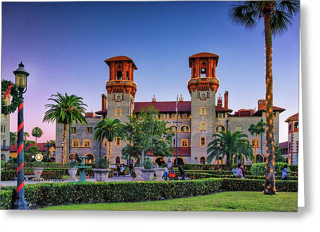St. Augustine, Fl - Lightner Lights Greeting Card