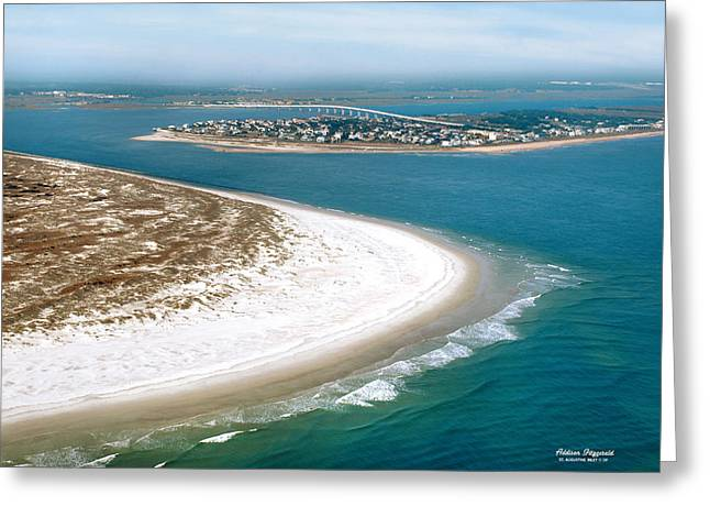 St Augustine Inlet Greeting Card by Addison Fitzgerald