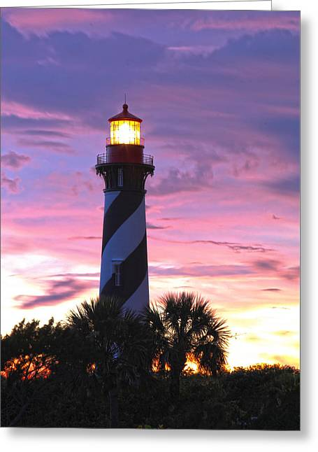 St. Augustine Light Greeting Card