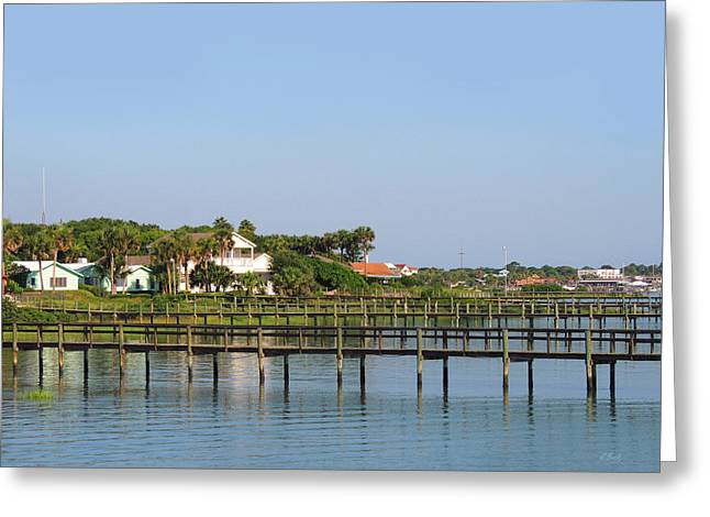 St. Augustine Morning Greeting Card by Gordon Beck