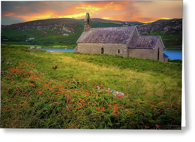 St. Brendan The Navigator Church Of Ireland In Crookhaven Greeting Card