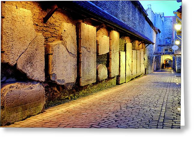 Greeting Card featuring the photograph St. Catherine's Passage by Fabrizio Troiani