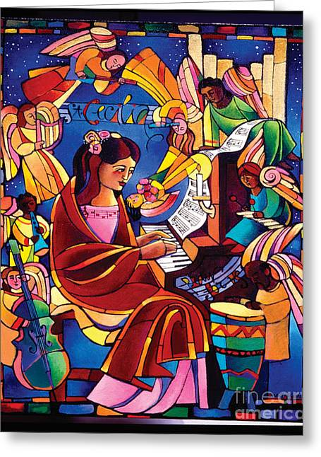 St. Cecilia - Mmcca Greeting Card