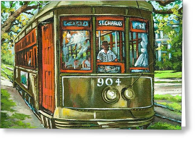 St. Charles No. 904 Greeting Card by Dianne Parks