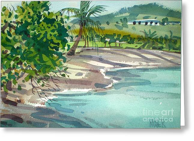 St. Croix Beach Greeting Card