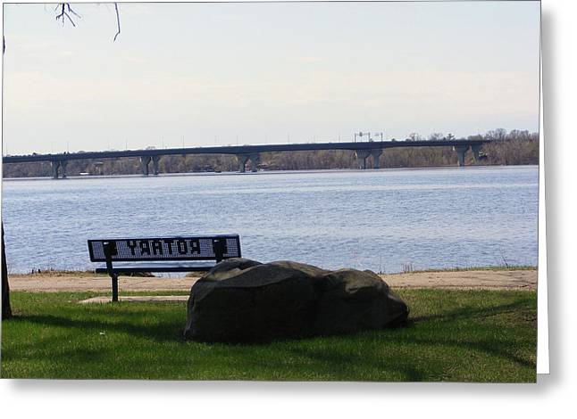 St Croix River Greeting Card