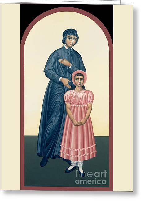 St. Elizabeth Seton - Rlels Greeting Card by Br Robert Lentz OFM