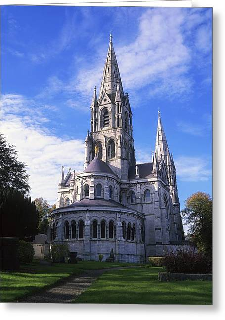 St Finbarrs Cathedral, Cork City, Co Greeting Card by The Irish Image Collection