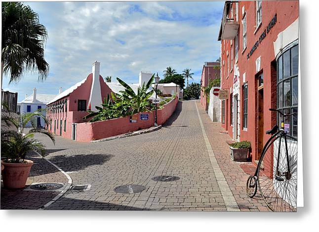 St George's Bermuda Greeting Card