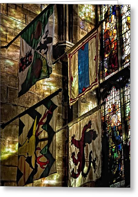 St. Giles Cathedral Edinburgh Greeting Card by Jim Dohms