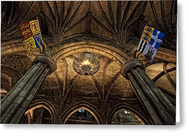 St. Giles Cathedral Greeting Card by Jim Dohms