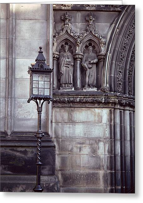 Greeting Card featuring the photograph St. Giles Cathedral by Kenneth Campbell