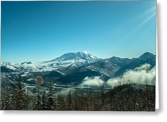 St Helens Big View Greeting Card