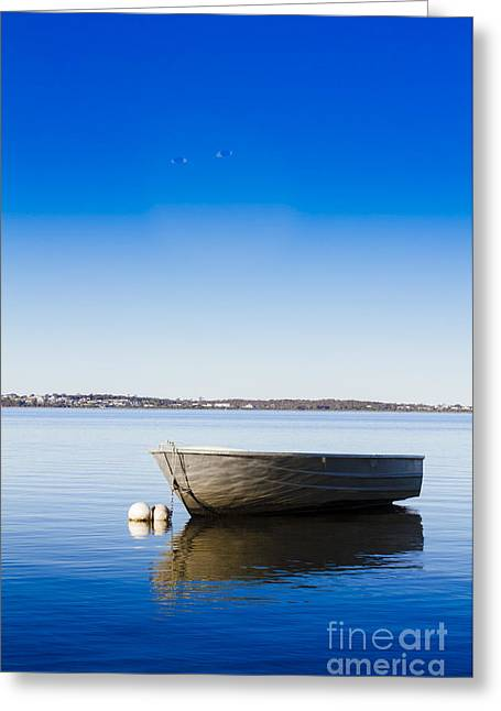 St. Helens Marine Scene Greeting Card by Jorgo Photography - Wall Art Gallery