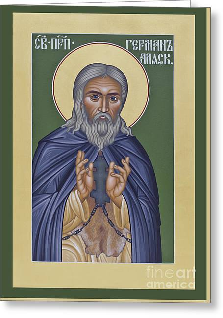 St. Herman Of Alaska  - Rlala Greeting Card by Br Robert Lentz OFM