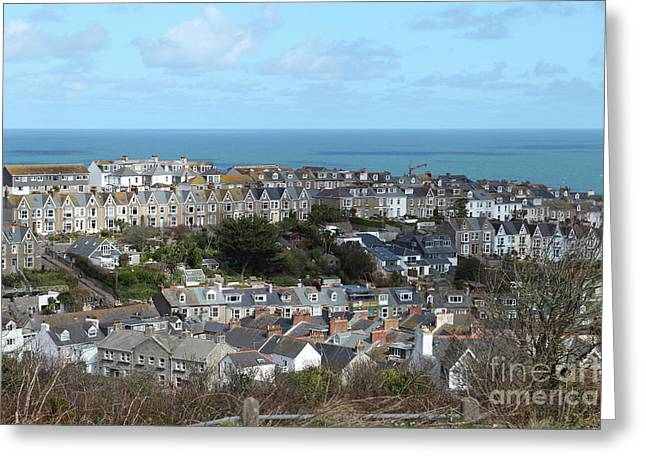 Greeting Card featuring the photograph St Ives, Cornwall, Uk by Nicholas Burningham