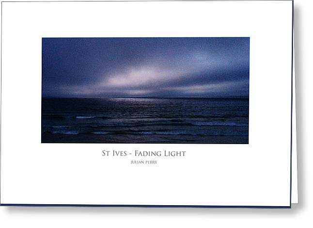 St Ives - Fading Light Greeting Card