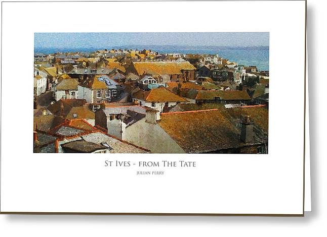 St Ives - From The Tate Greeting Card