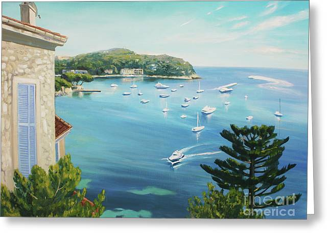 St Jean Cap Ferrat 2 Greeting Card