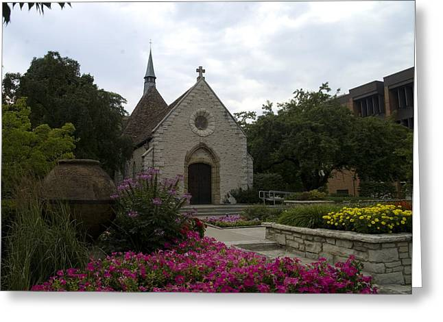 St Joan Of Arc Chapel Greeting Card by Peter Skiba