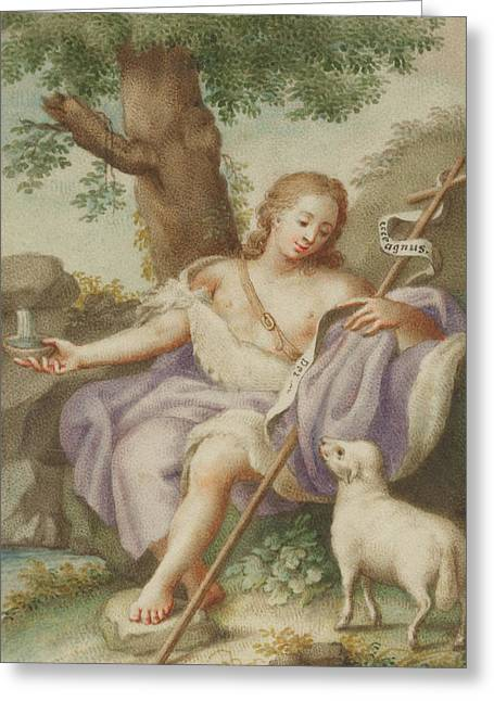 St John The Baptist Greeting Card by Austrian School