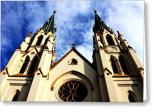 St. John The Baptist Cathedral Greeting Card by Dana  Oliver