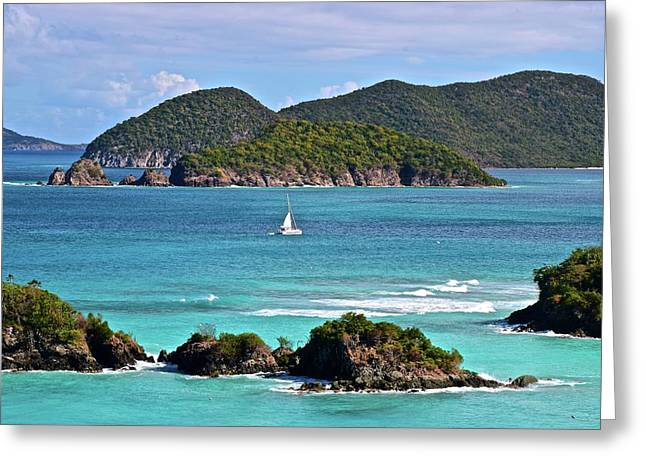 St John Vista Greeting Card by Frozen in Time Fine Art Photography