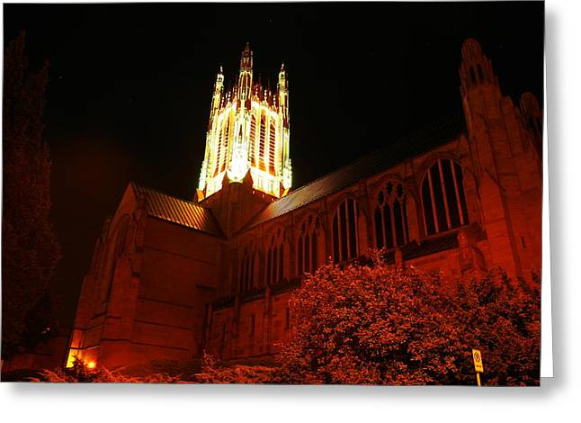 St Johns Cathedral Greeting Card by Jeff Swan