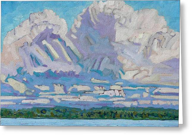 St Lawrence Cumulus Greeting Card by Phil Chadwick
