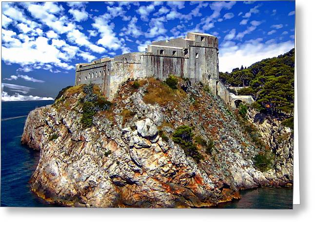 St. Lawrence Fortress Greeting Card