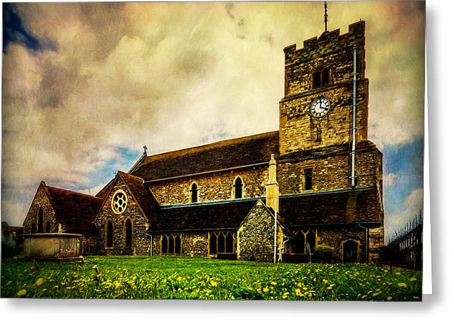 St. Leonard's Church Greeting Card by Chris Lord