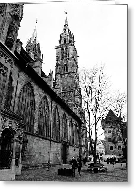 St. Lorenz Cathedral Greeting Card