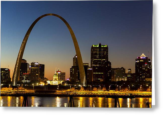 St. Louis Arch Greeting Card