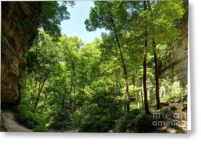 St. Louis Canyon 2 Hdr Greeting Card
