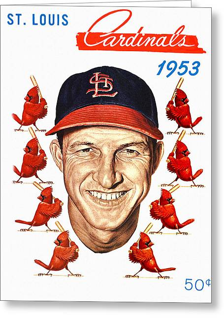 St. Louis Cardinals 1953 Yearbook Greeting Card